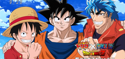 Dragon Ball Z x Toriko x One Piece