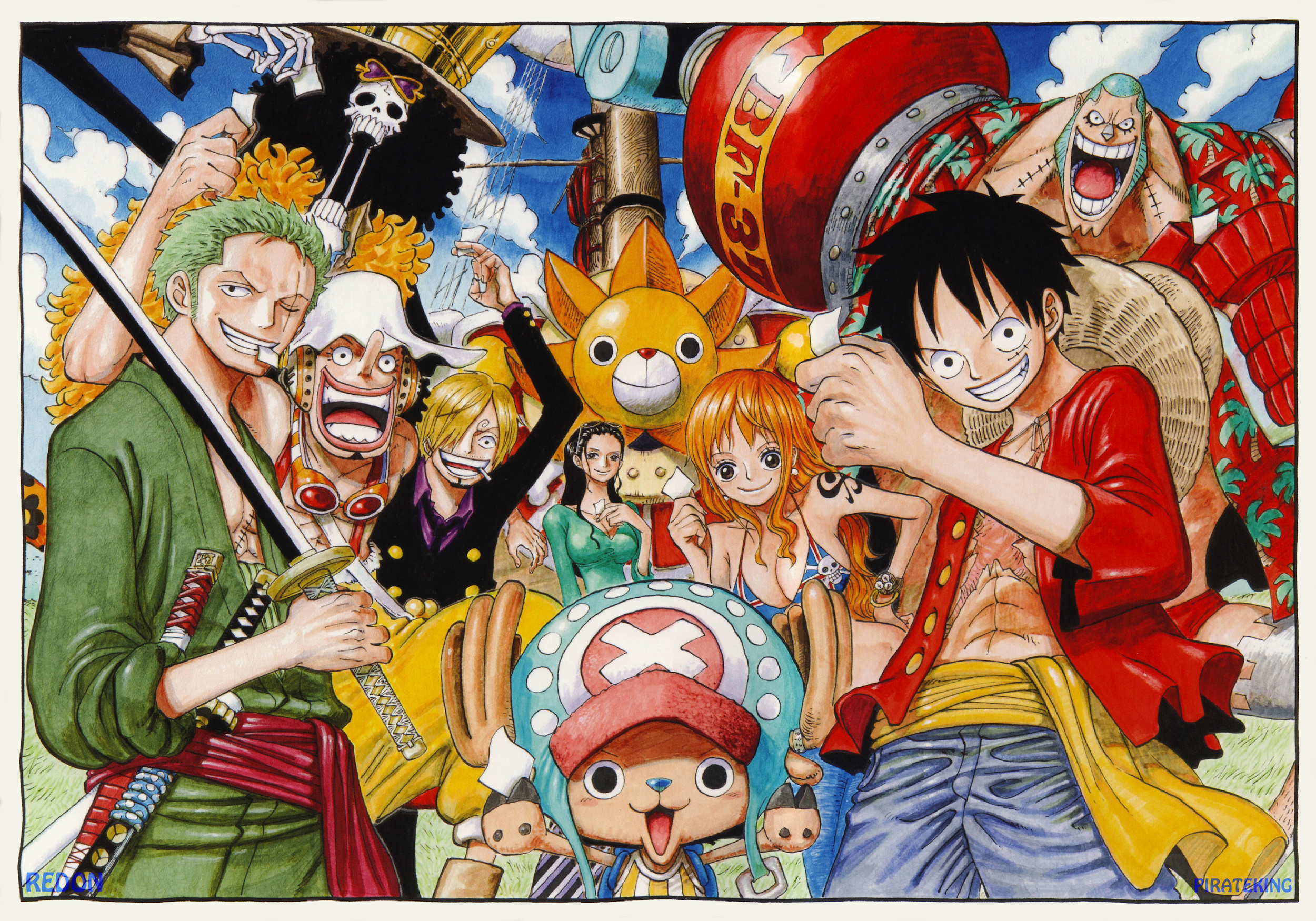 11 Facts About Oda and... Luffy 2 Years Later Haki