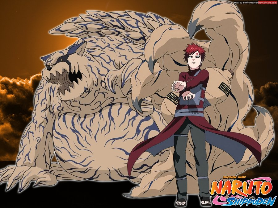 Gaara Awakens Shukaku in Naruto - 145.1KB