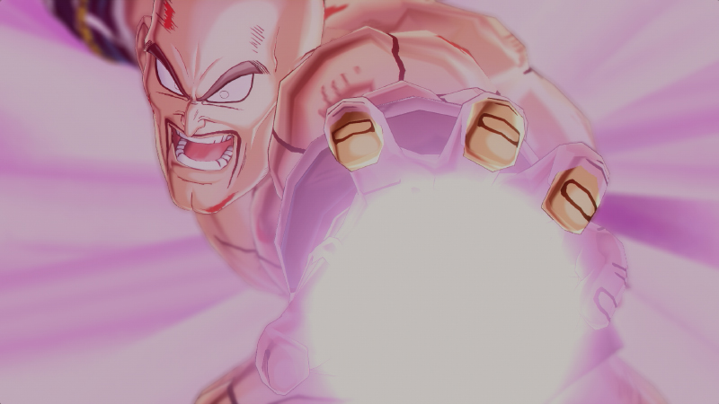 Nappa Unleashes His Attack