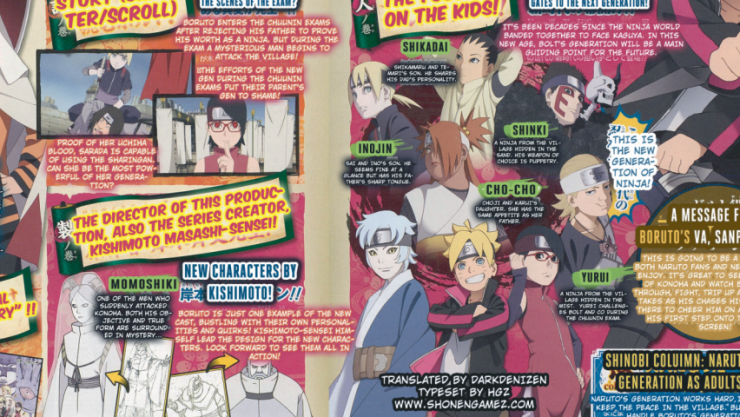 Boruto Naruto The Movie Heroes Villains And Children Get A Focus In This New Scan