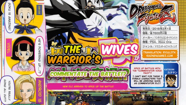 Dragon Ball FighterZ – Chi-Chi, Videl, and Android 18