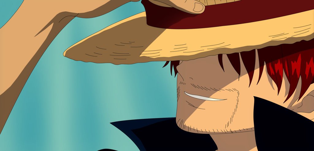 one piece shanks and luffy meet again in heaven