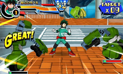review my hero academia battle for all shonengames