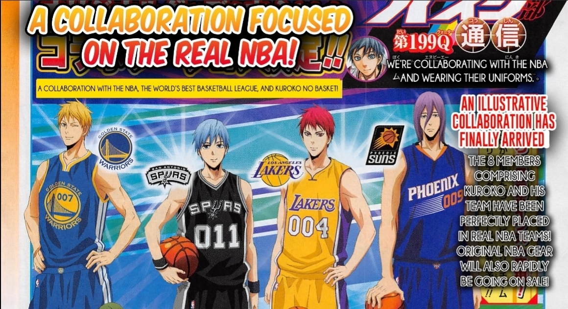 Kurokos basketball collabs with the nba to promote kurokos kurokos basketball collabs with the nba to promote kurokos basketball last game voltagebd Image collections