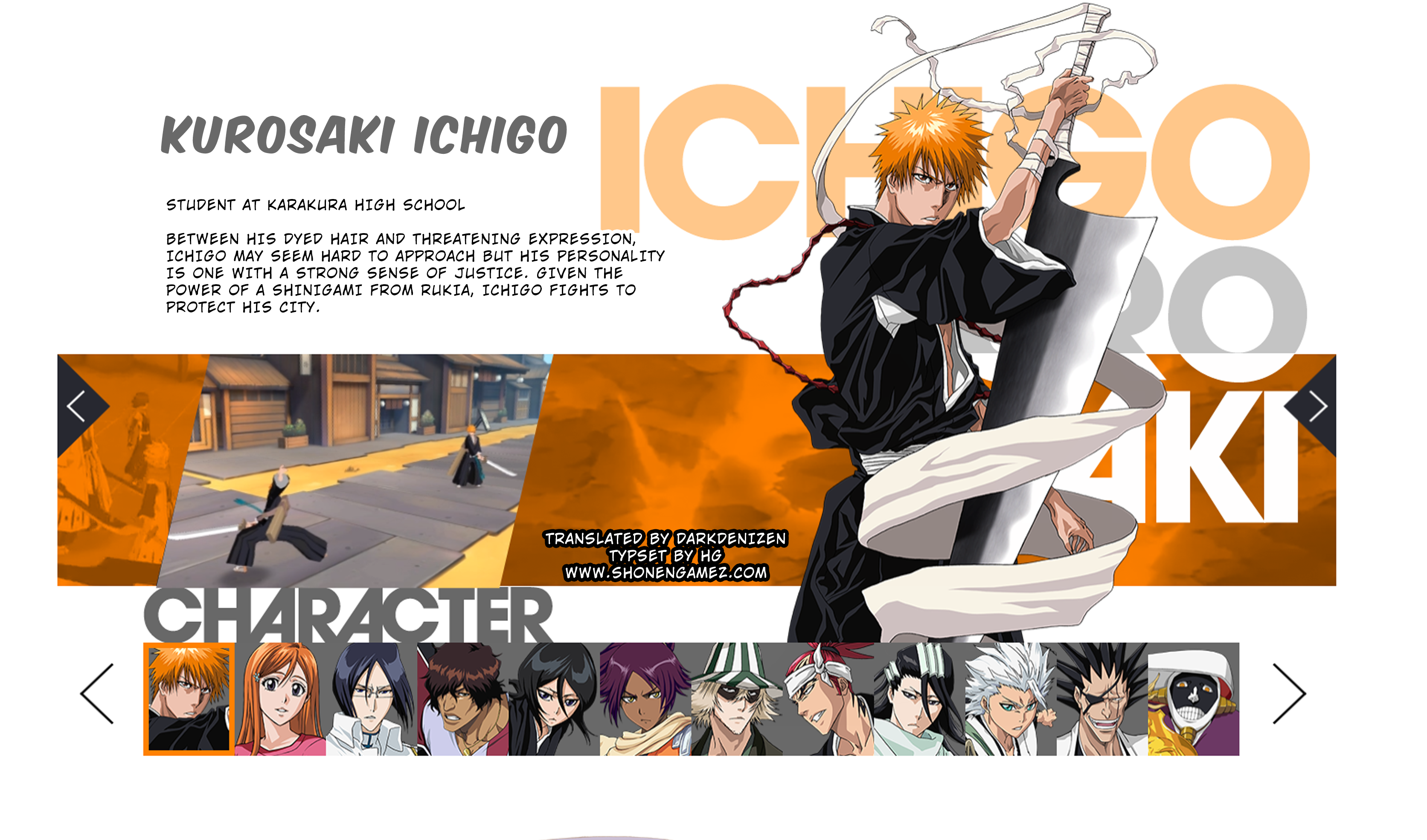 Bleach Paradise Losts Official Website Opens With New Character Descriptions